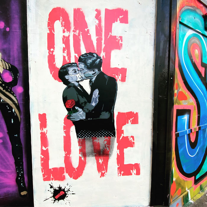 Love. Shoreditch Street Art, London