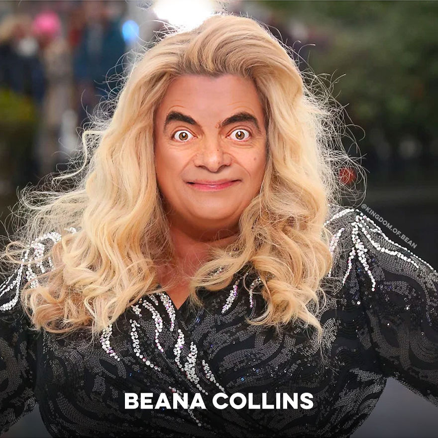 Gemma Collins As Mr. Bean