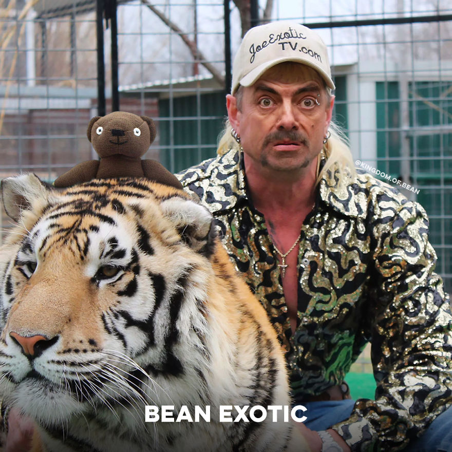 Joe Exotic As Mr. Bean