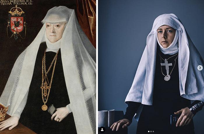 """Marcin Kober, """"Portrait Of Anna Jagiellon (1523-1596), Queen Of Poland"""", Before 1596"""