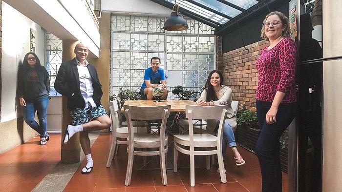 María José, Sebastián, William, Paola, And Mônica (Bogota, Colombia)