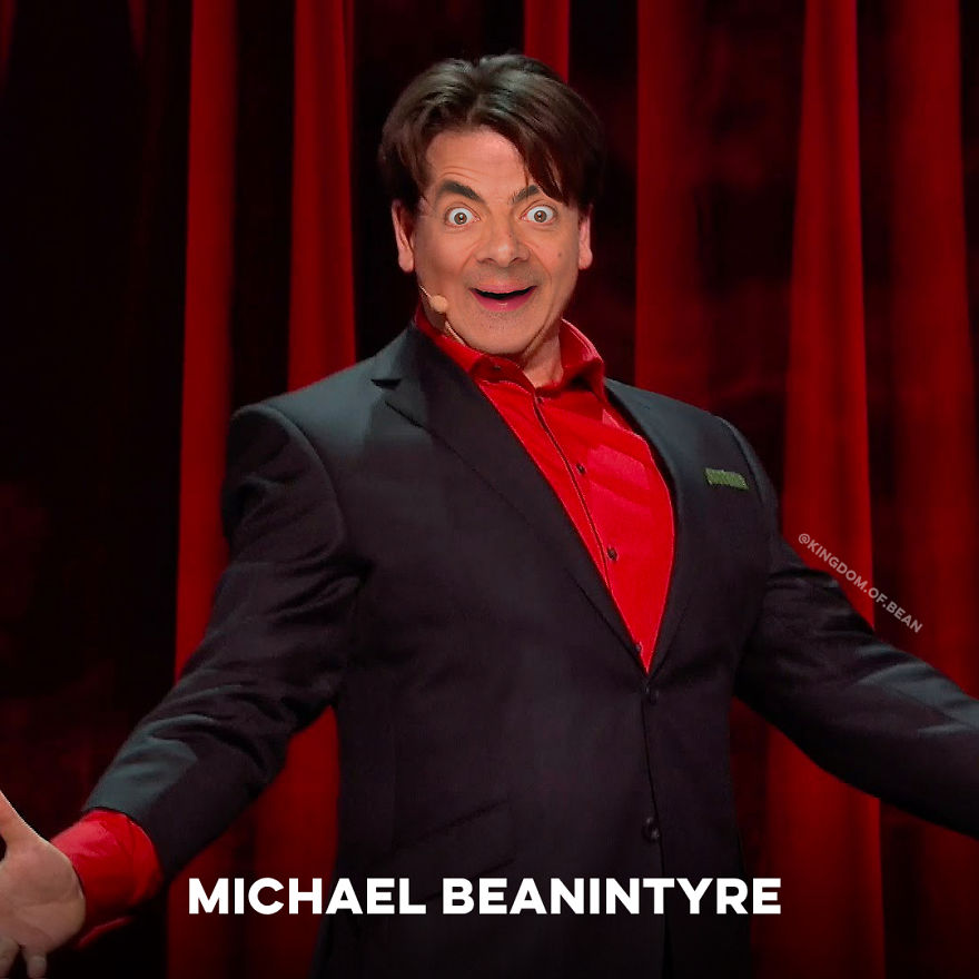 Michael McIntyre As Mr. Bean