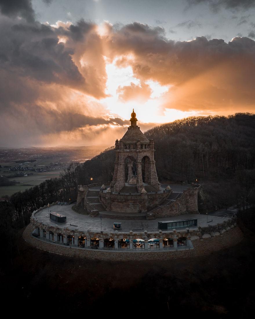 Monument Sunset