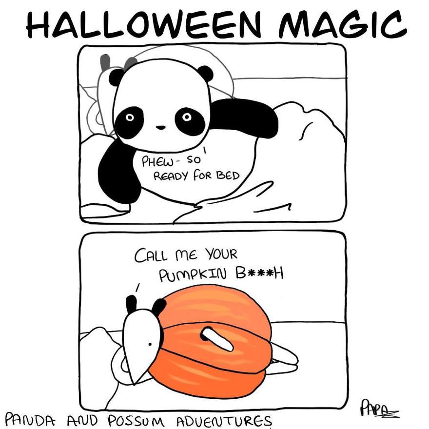 Panda And Possum Adventures- Webcomic