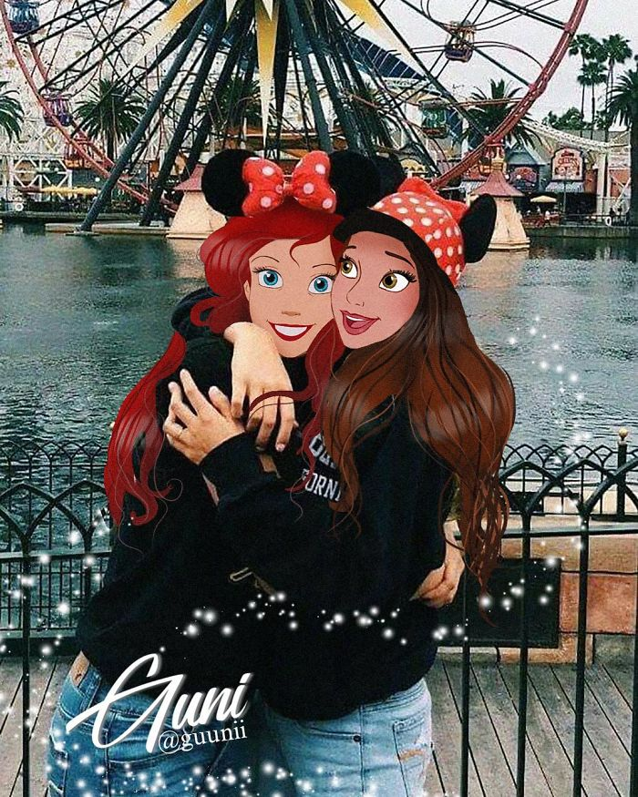 Russian Artist Takes Disney Princesses To Live Great Love In The Real World