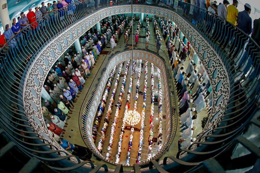 The First Jummah Prayers During Ramadan