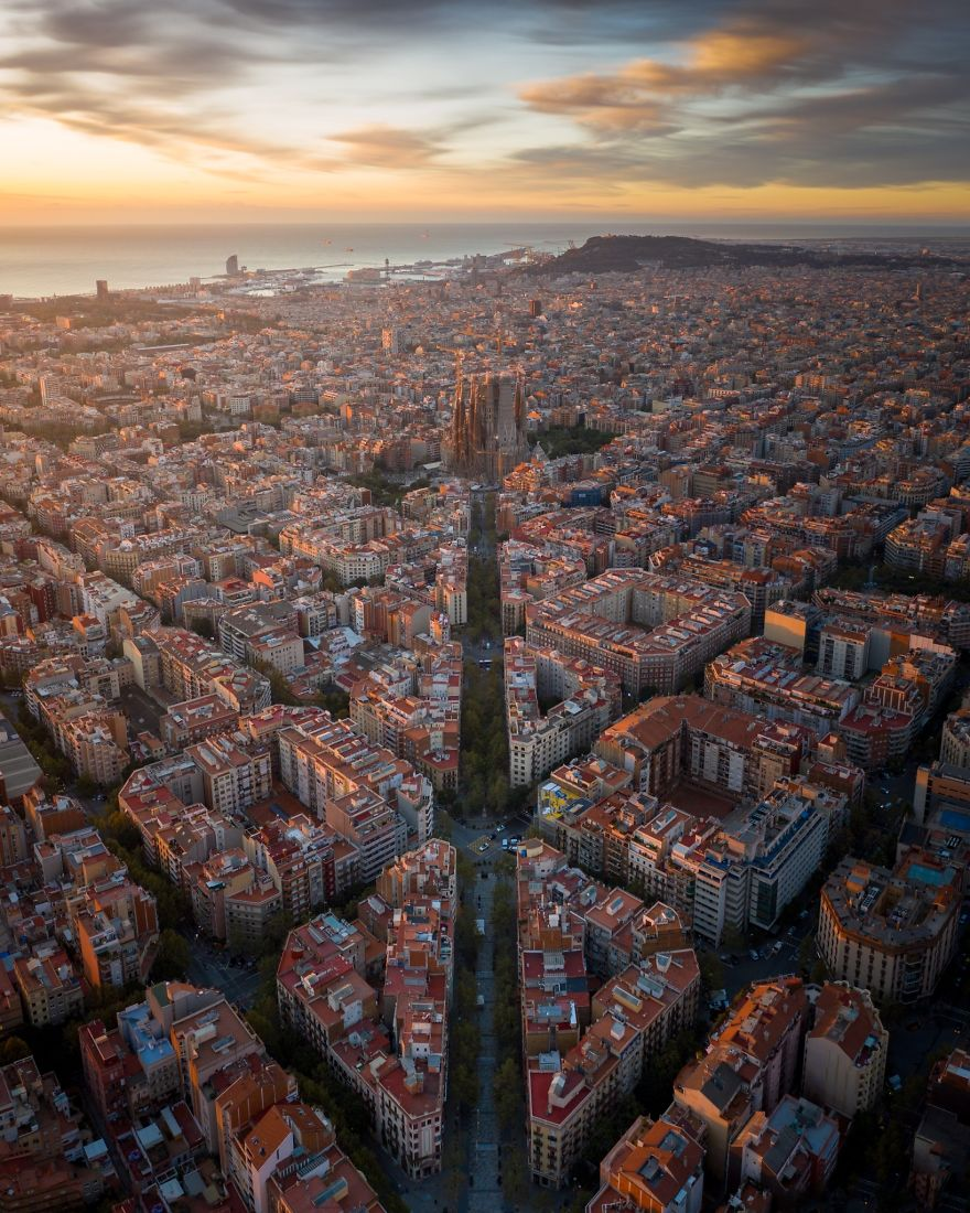 Urban Grid, Barcelona