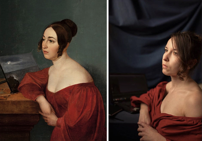 "Wojciech Korneli Stattler, ""Portrait of Hortensja Sobańska Née Jełowicka"", 1836"