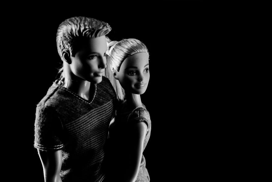 All My Events And Photoshoots Were Canceled, So I Did A Shoot With Barbie And Ken At Home