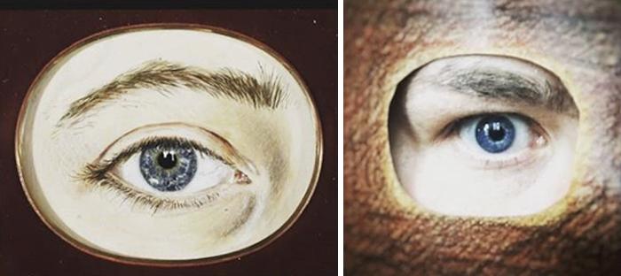 Right Eye / commemorative souvenir, 1850