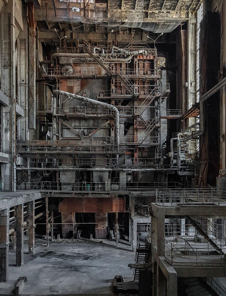 Abandoned Powerplant