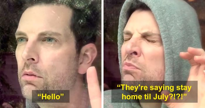 "Dad Nails The Feeling Everyone Has During Lockdown, Creates A Hilariously Spot-On Parody Of Adele's ""Hello"" (From The Inside)"