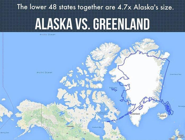Surprised By How Little Americans Know About Alaska, This Artist Creates A Compilation Of The Coolest Facts About This State