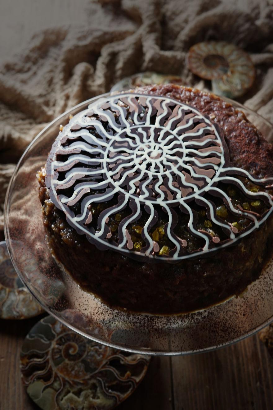 Ammonite Cake