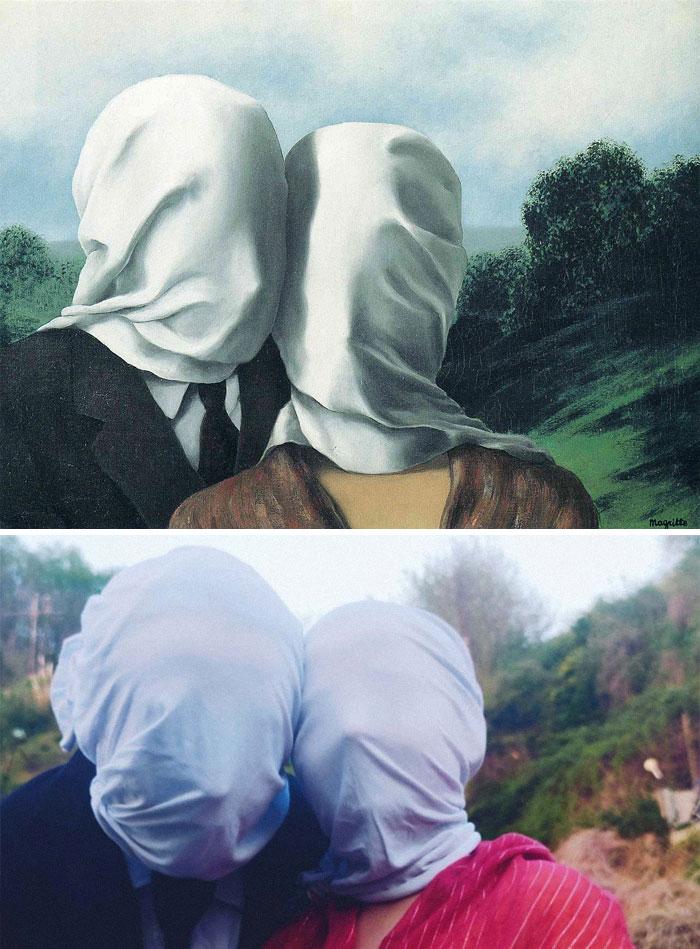 Les Amoureux - Magritte
