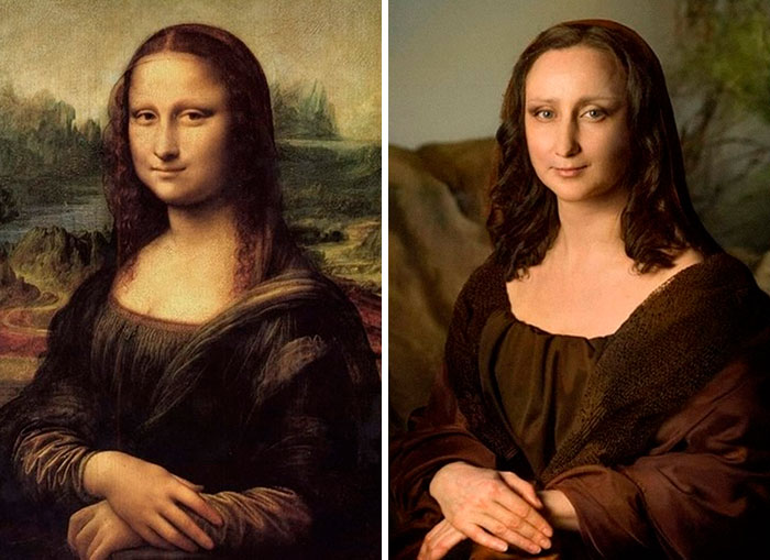 Museums Ask People To Recreate Famous Paintings At Home, Get 30 More Hilarious Pics