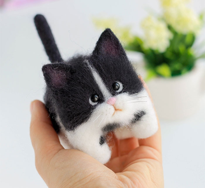 Russian Artist's Felted Wool Animals Might Stun You With Their Cuteness (67 Pics)