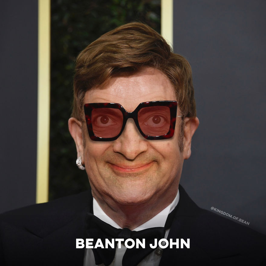 Elton John As Mr. Bean