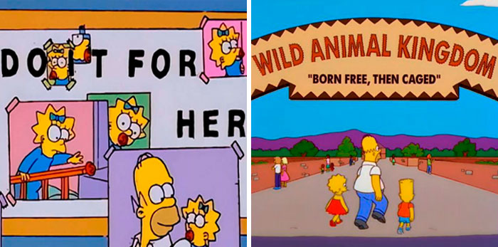 35 Of The Wittiest Signs Found In The Simpsons