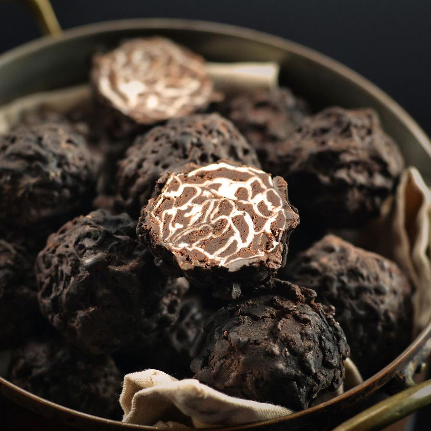 Chocolate Truffle Truffles With Truffles