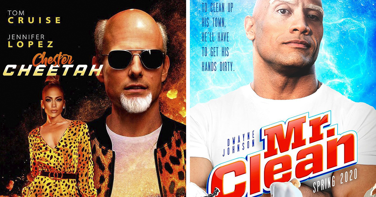 Here's How 16 Famous Brands Would Look As Movie Posters