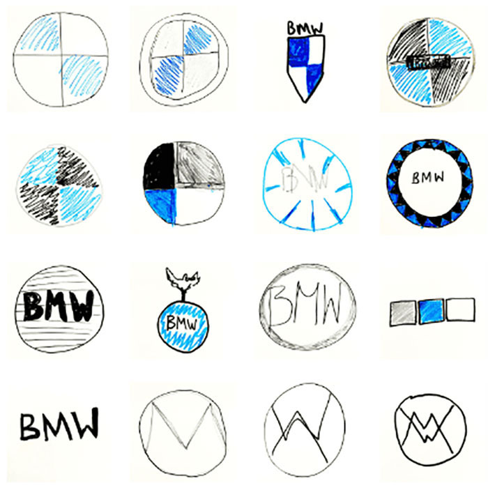 Company Asks 100 People To Draw 10 Car Logos From Memory, And The Results Are Hilarious