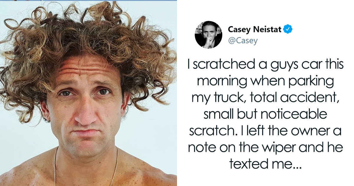 YouTuber Shares A Wholesome Text Exchange He Had With The Person Whose Car He Scratched