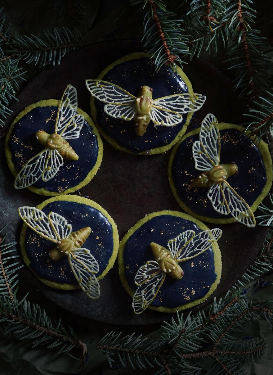 Cicadas And Lapis Lazuli