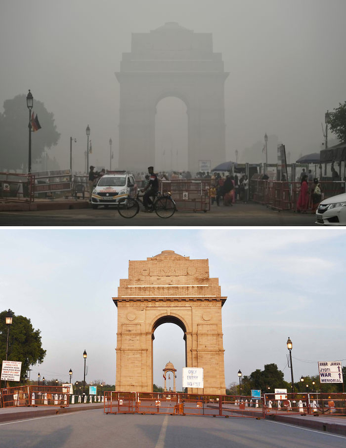 The India Gate War Memorial, New Delhi, India