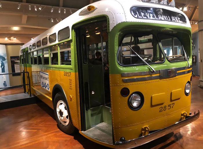 The Henry Ford Museum In Detroit Is Home To The Actual Bus That Rosa Parks Protested On
