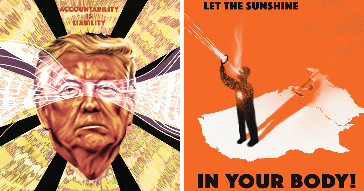 Here Are 20th Century-Inspired Propaganda Posters About The COVID-19 Crisis In The US