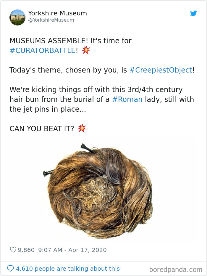 This image has an empty alt attribute; its file name is creepiest-objects-curator-battle-yorkshire-museum-1.jpg