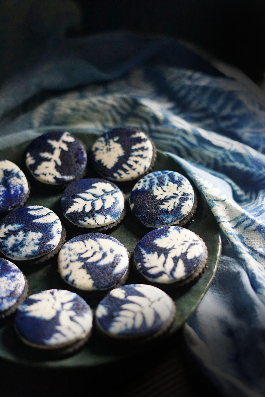 Cyanotype Cookies