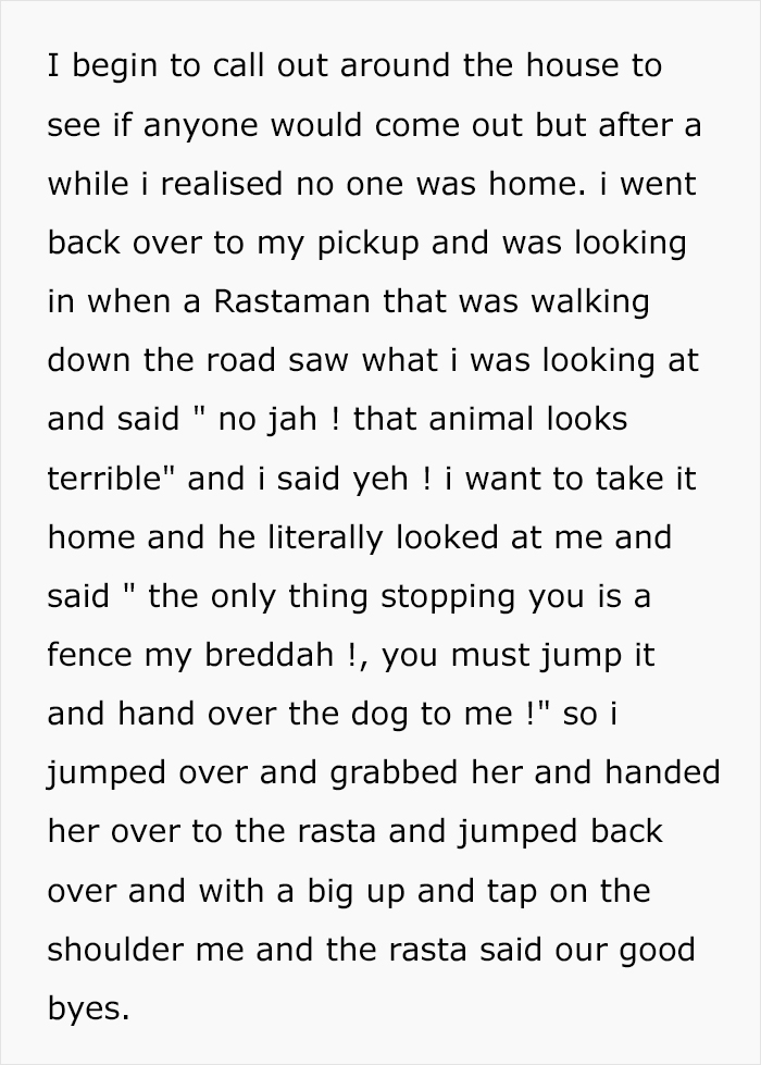 """Guy Jumped The Fence To """"Steal"""" A Starving Dog From Negligent Owners, Gets Kudos From The Internet"""