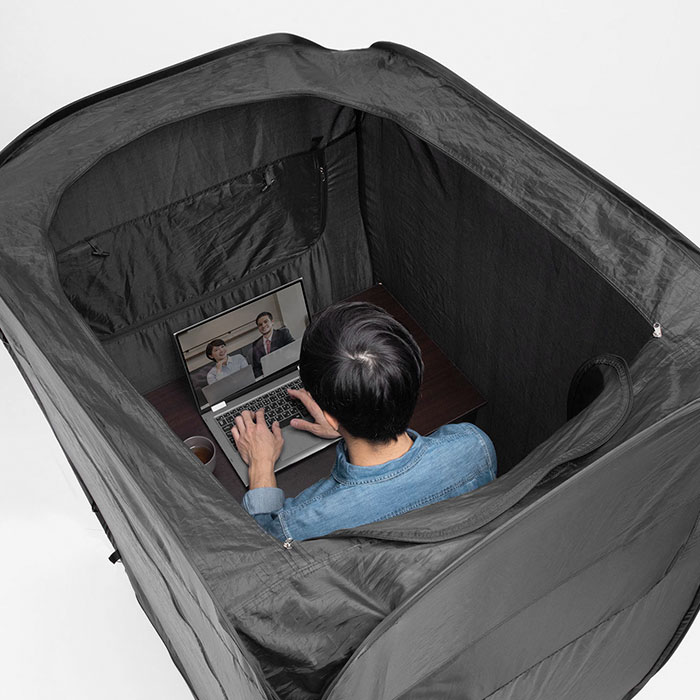 Working From Home Has Never Been Easier With This Office-Tent