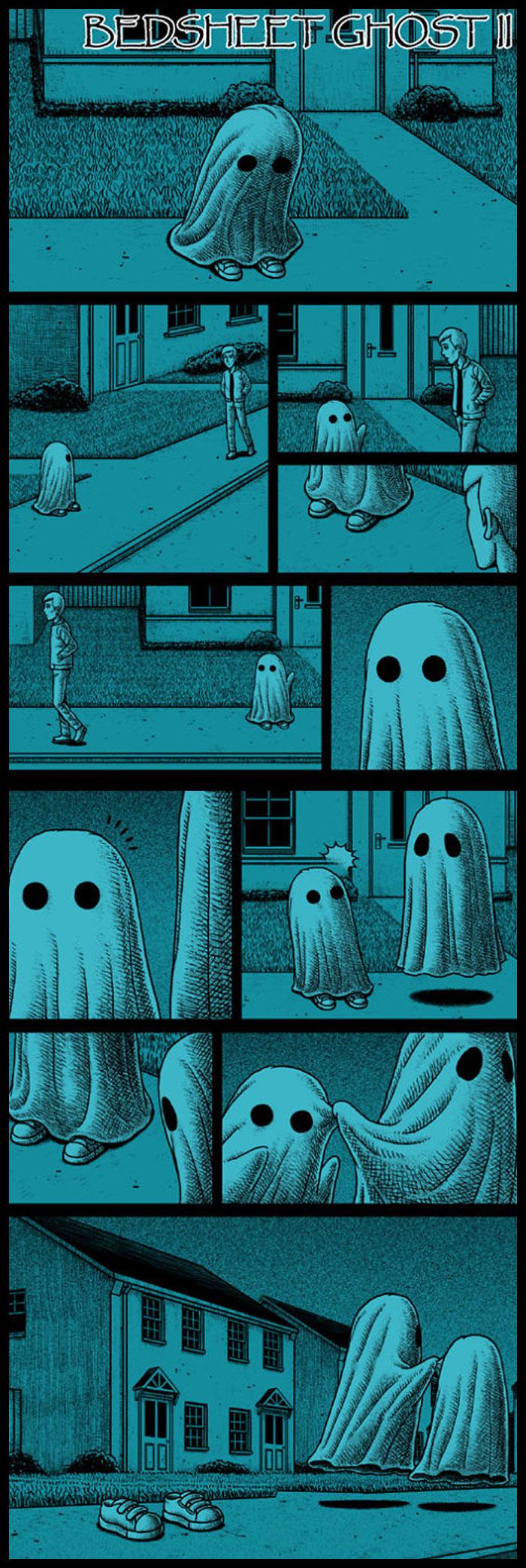 Bedsheet Ghost 2