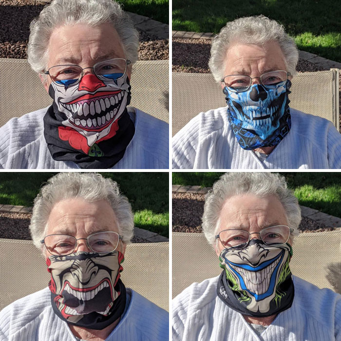 Quarantine Fun With Mom! Only Masks Available On-Line