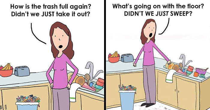 33 Funny Comics About Quarantining With Your Family By Hedger Humor