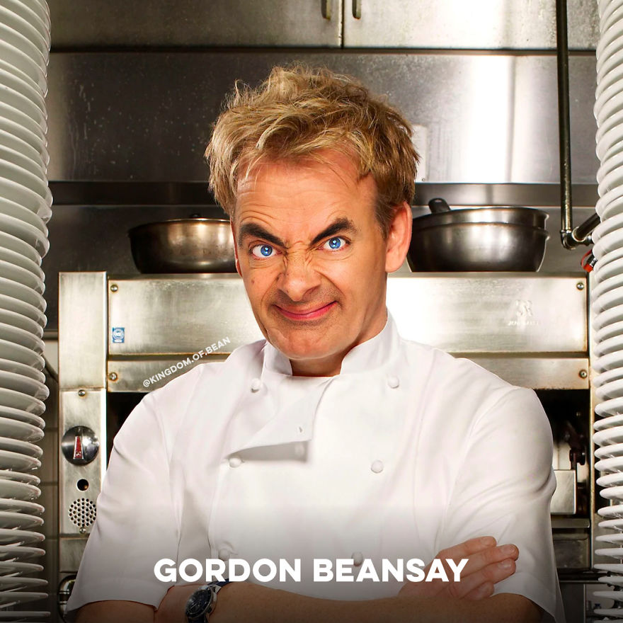 Gordon Ramsay As Mr. Bean