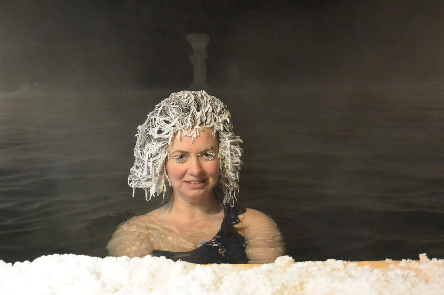 Hair Freezing Contest