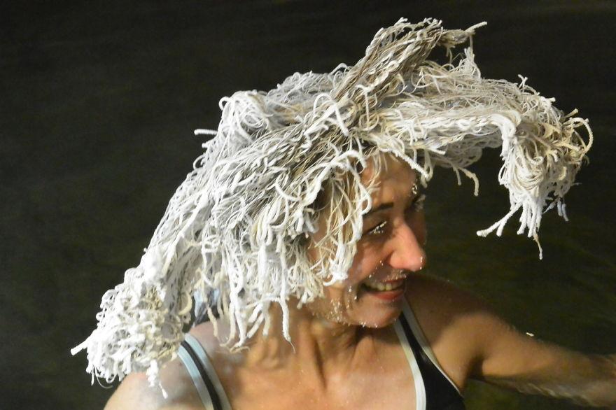 Hair Freezing Contest