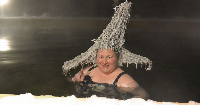 Canada's Annual Hair Freezing Contest Announces It's Winners And The Hairstyles Look Too Cool (30 Pics)