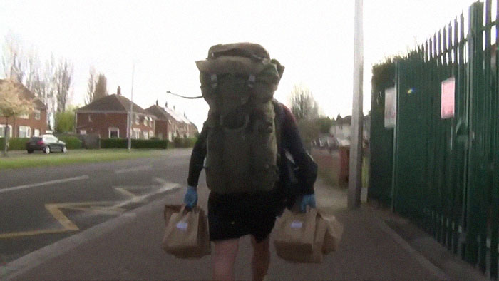 Heroic Teacher Walks 5 Miles Every Single Day To Deliver 40 Lbs Of Free Lunches To 78 Students