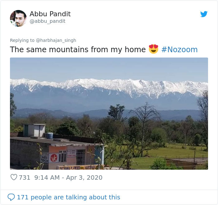 'Never Could Imagine This Was Possible': The Himalayas Are Visible 125 Miles Away In Parts Of India For The First Time In 30 Years
