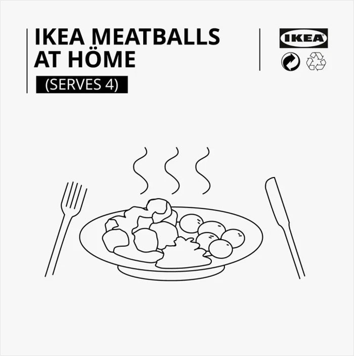 Ikea Shares Their Iconic Meatballs Recipe And It Consists Of Only 6 Steps Bored Panda