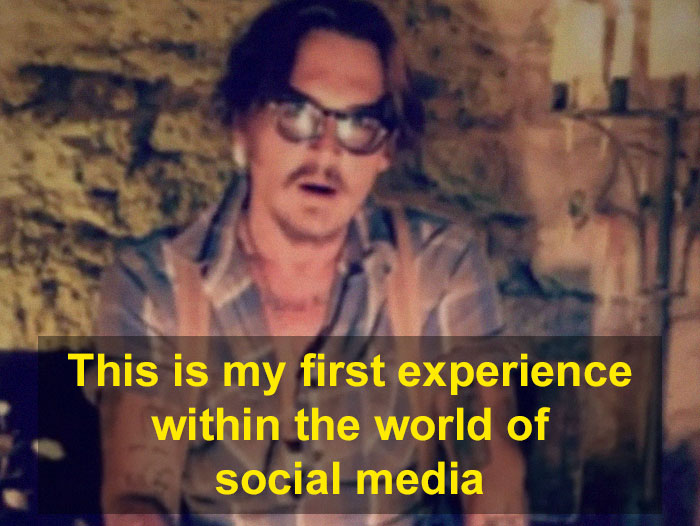 56YO Johnny Depp Joins Instagram For The First Time, Gets 1.8M Followers In One Day