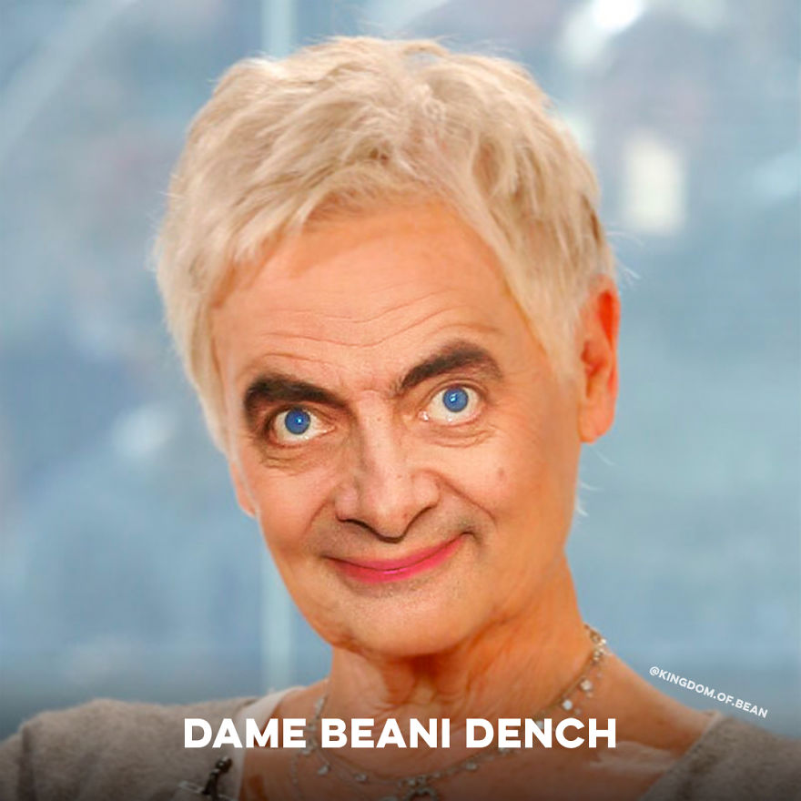 Dame Judi Dench As Mr. Bean