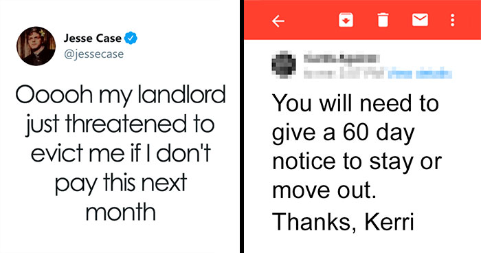Landlord Threatens To Evict Tenant If He Doesn't Pay Next Month, So He Shuts Them Down With The Perfect Email