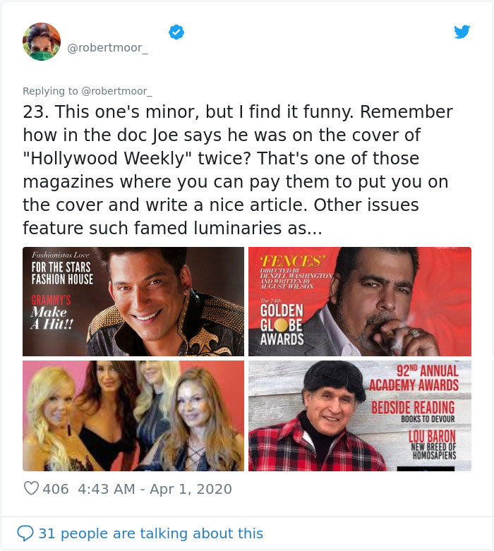Person Shares 23 Wild Facts That Were Left Out Of Tiger King