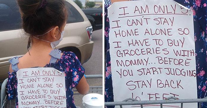 Padres solteros se identifican con las quejas de esta madre sobre quienes la juzgan por llevarse a su hija a hacer la compra